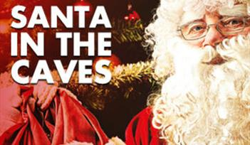Santa in the Caves, Christmas at Kents Cavern, Torquay, Devon