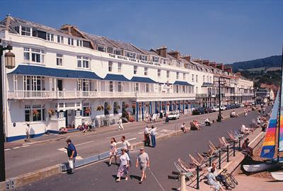 Royal York and Faulkner Hotel, Sidmouth