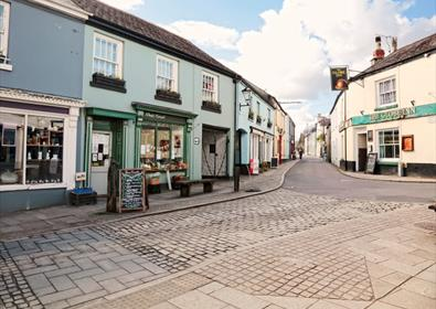 Buckfastleigh Town Centre