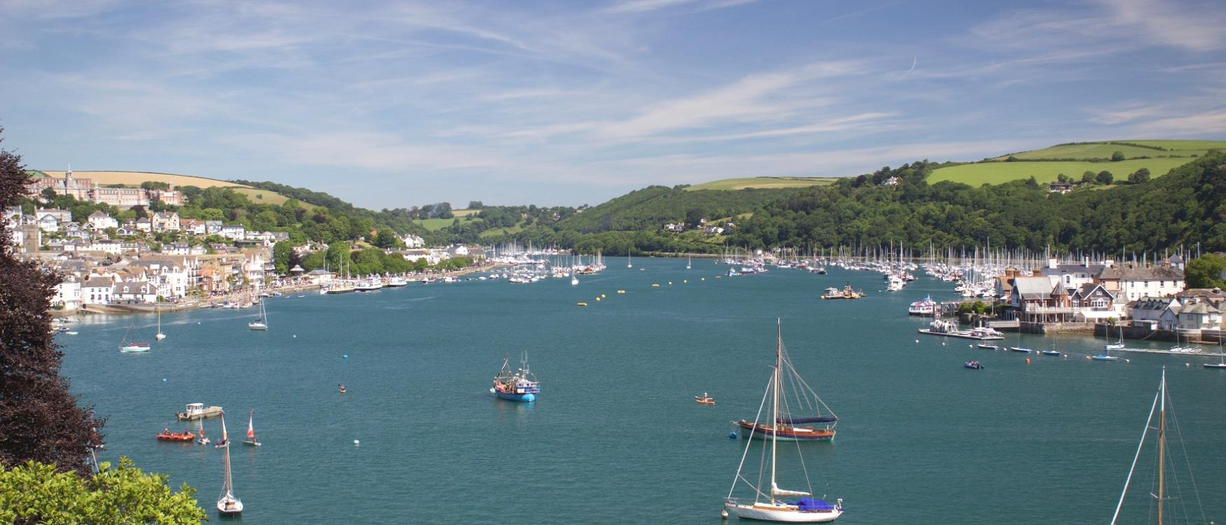 The River Dart at Dartmouth