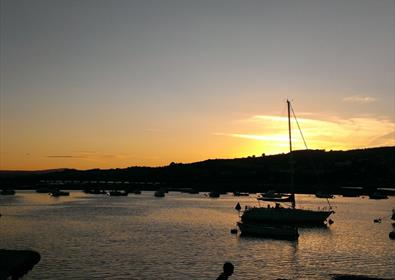Sunset River Teign