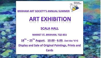 Brixham Art Society Summer Exhibition