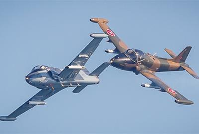 BAC Strikemaster Pair aerobatic jet team