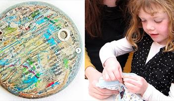 Kids free badge making devon guild