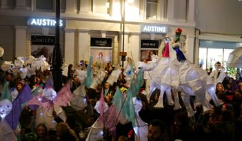 Lantern Parade and Christmas Street Fayre