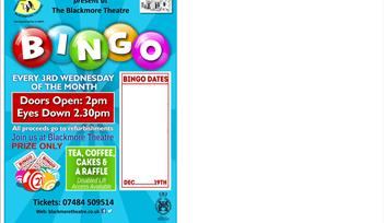 Christmas Prize Only Bingo at The Blackmore