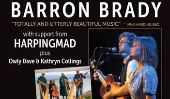 BARRON BRADY PLUS SUPPORT - BARN OWL TRUST CHARITY CONCERT
