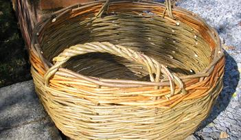 Willow Breton Button Basket