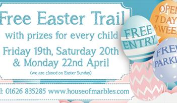 Easter Egg Trail at House of Marbles 2019
