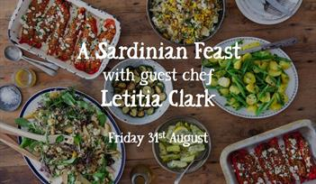 A Sardinian Feast with guest chef Letitia Clark