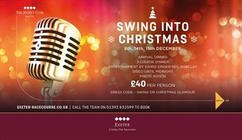 Christmas Parties at Exeter Racecourse