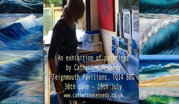 Exhibition of seascape paintings and prints by Catherine Kennedy