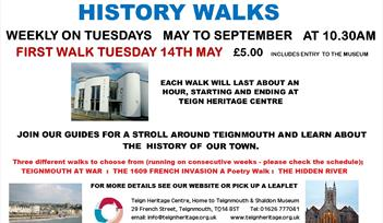 Teignmouth History Walks