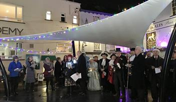 Mayors Carol Service and Christmas Street Fayre