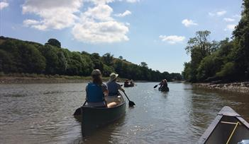 CANOE Paddle to the Pub (and back!)