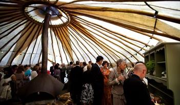 In the Yurt at River Cottage
