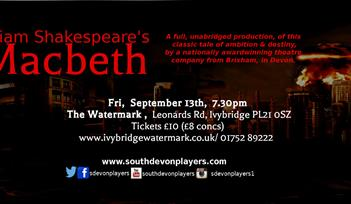 William Shakespeare's Macbeth - at Ivybridge