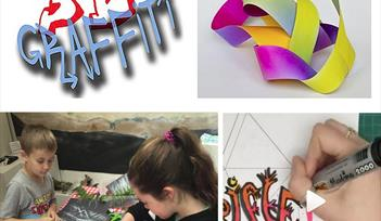 Make 3D Graffiti Art