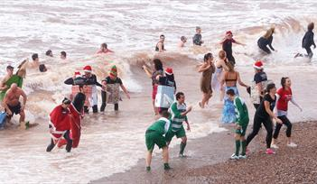 Sidmouth Boxing Day Swim