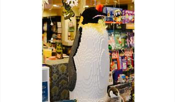 Penguins: A LEGO® brick trail