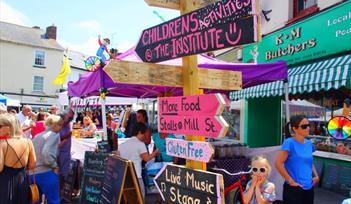 Ottery St Mary Food & Families Festival