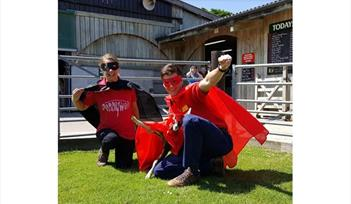 Super Hero Saturday at Pennywell