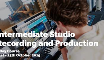 dBs Music - Intermediate Studio Recording and Production - 5 Day Short Course