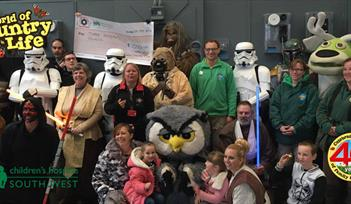 Star Wars Day Bank Holiday Monday World of Country Life Exmouth Devon