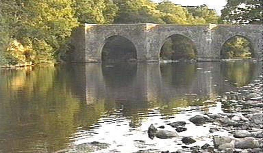 Staverton Bridge, South Devon