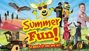 Summer Holiday Fun at World of Country Life, Exmouth, Devon
