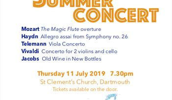 Dartmouth Orchestra Summer Concert