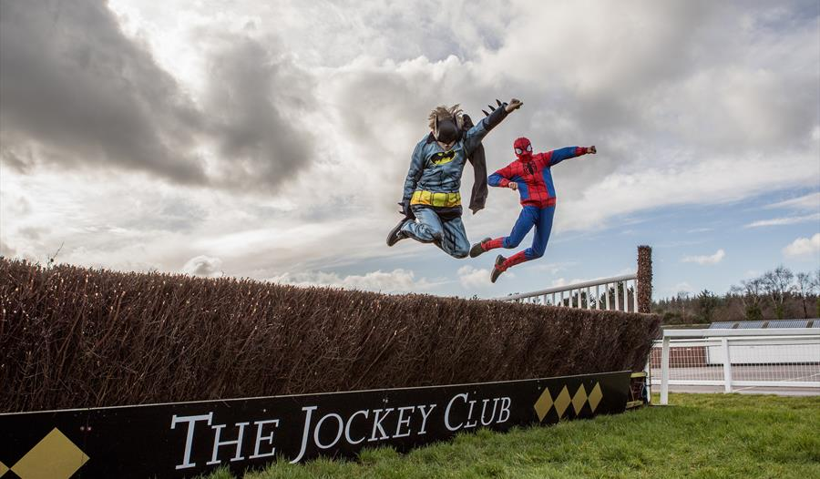 Superhero Family Day at Exeter Racecourse on Sunday, March 22 promises to be one of the best free days out for children this Easter holiday with a pro