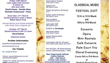 Teignmouth Classical Music Festival