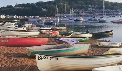 Teignmouth River Beach