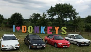 XRS exhibiting at The Donkey Sanctuary Car Show