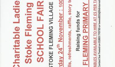 Christmas Fair in aid of Stoke Fleming School