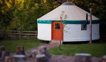Yurtcamp contemporary yurt