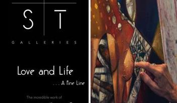 'Love And Life - A Fine Line' Exhibition by Andrei Protsouk