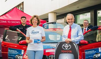 Princesshay and FORCE Cancer Charity car raffle