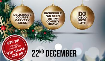 Torquay Comedy Club Christmas Party