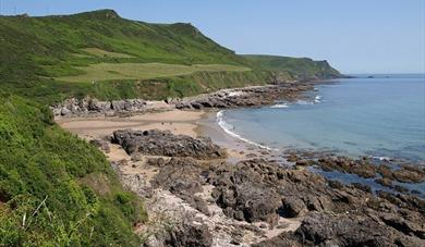Lannacombe Beach