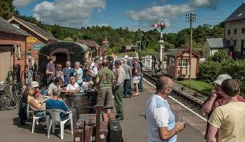 'RAILS AND ALES' GALA AT THE SOUTH DEVON RAILWAY