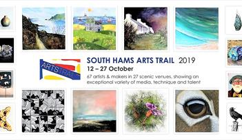 Selection of artwork from South Hams artists and makers