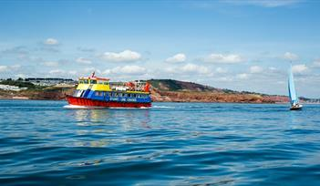 Stuart Line Cruises on a Day Trip to Sidmouth