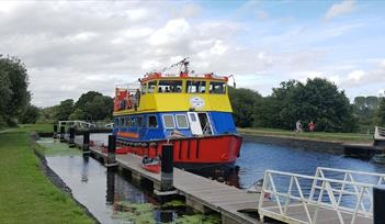 Stuart Line Cruises on Exeter Canal Cruise