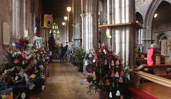 Crediton Parish Church Christmas Tree Festival